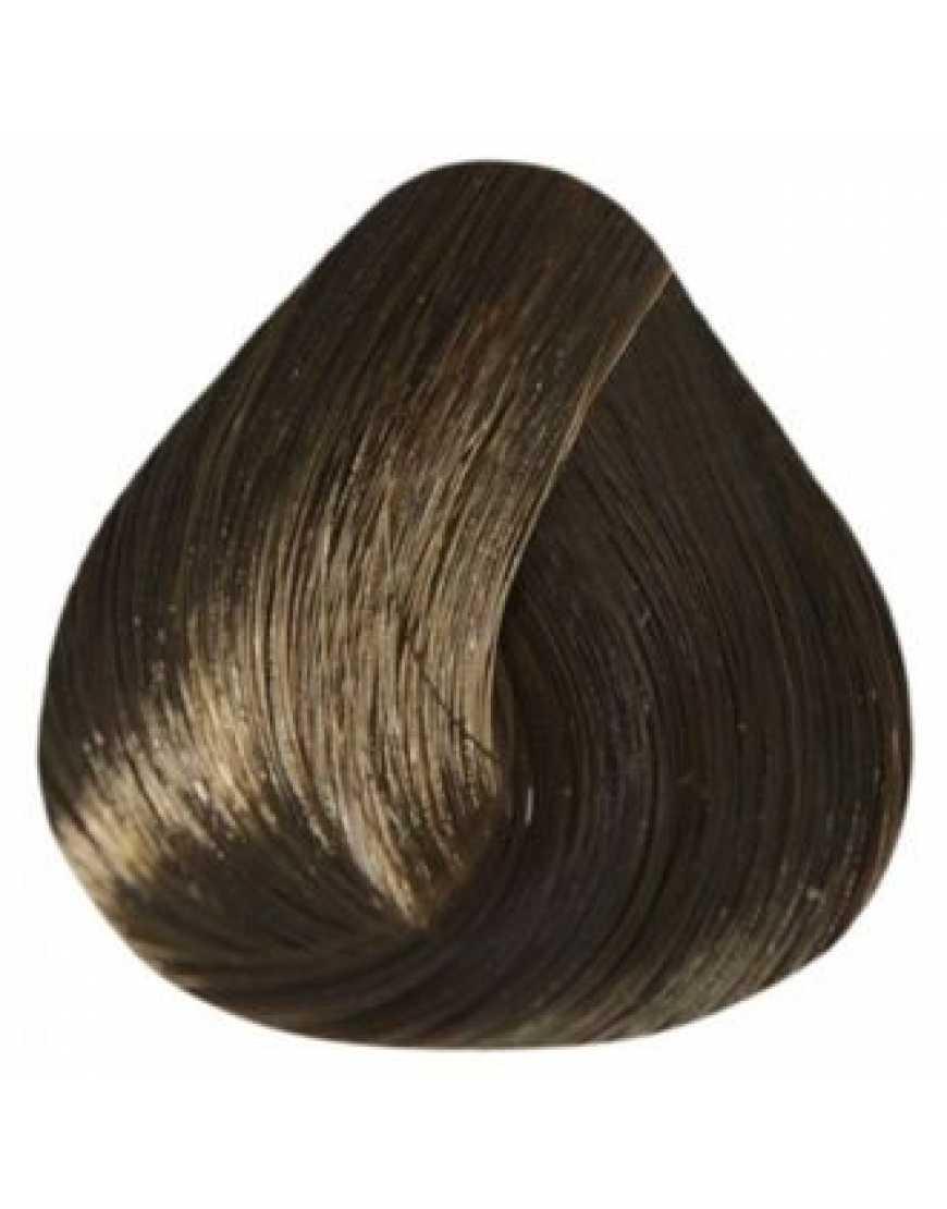 Estel Крем-краска для волос 5/0 DeLux Silver, светлый шатен 60 мл