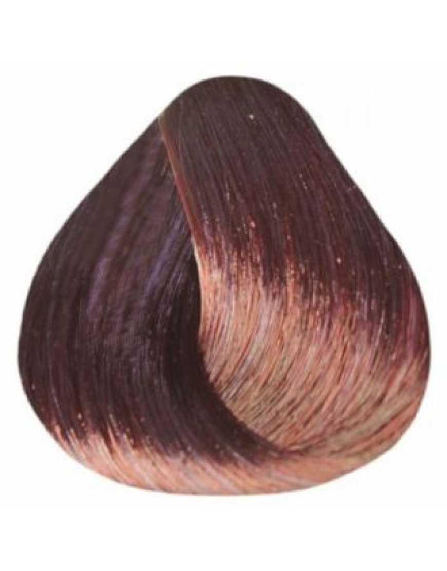 Estel Крем-краска для волос 5/6 DeLux Silver, светлый шатен фиолетовый 60 мл