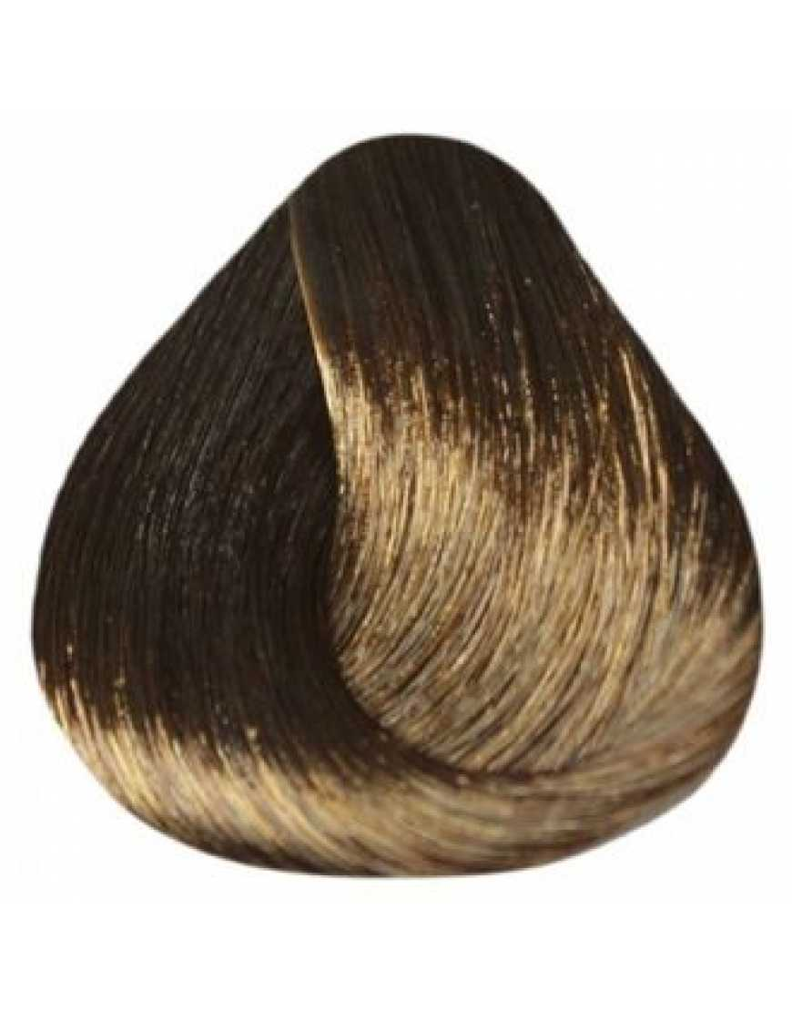 Estel Крем-краска для волос 5/7 DeLux Silver, светлый шатен коричневый 60 мл