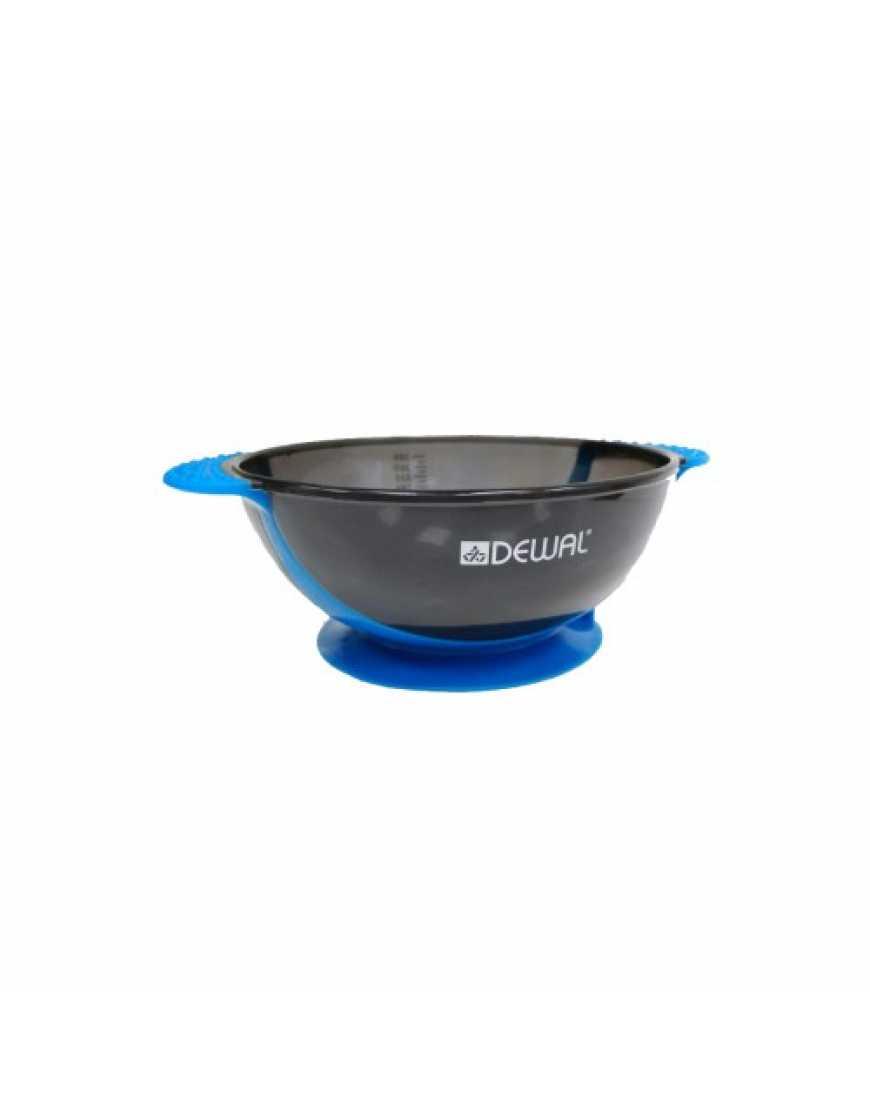 Чаша для краски Dewal Т-18blue, синяя, с двумя ручками с прорезиненной вставкой 300 мл