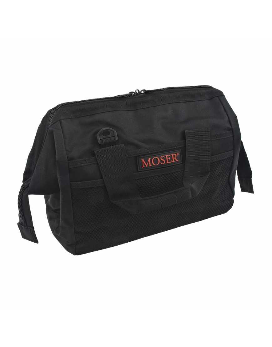 Сумка для парикмахеров Moser Frogmouth tool bag, black 0092-6180