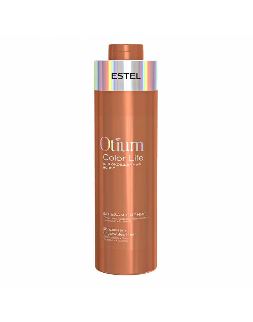 ESTEL Бальзам-сияние для окрашенных  волос OTIUM COLOR LIFE, 1000 мл