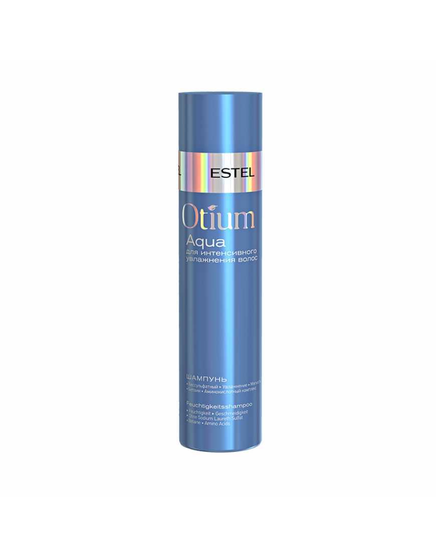 ESTEL Шампунь для интенсивного увлажнения волос OTIUM AQUA, 250 мл