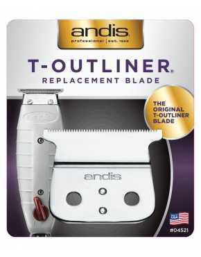 Andis Ножевой блок для триммера T-OUTLINER сталь 0,1 мм