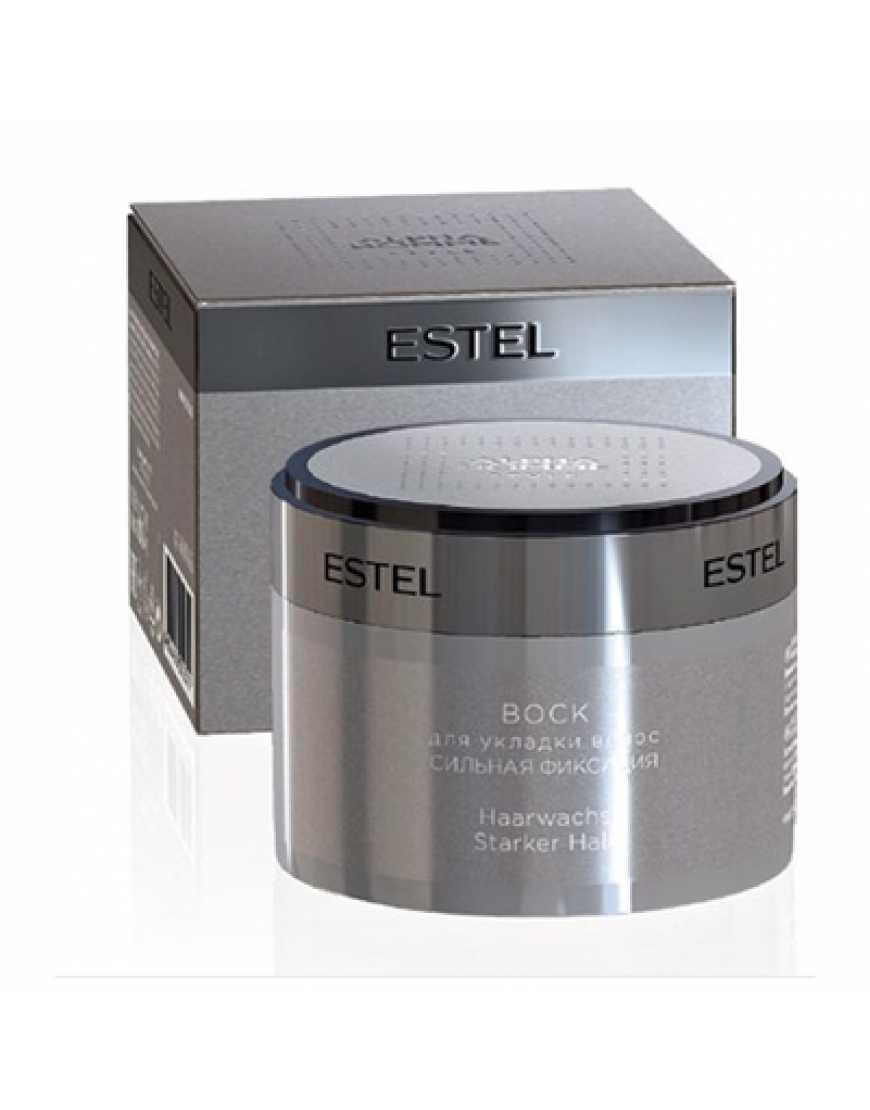 ESTEL Воск для укладки волос сильная фиксация  Alpha Homme, 200 мл