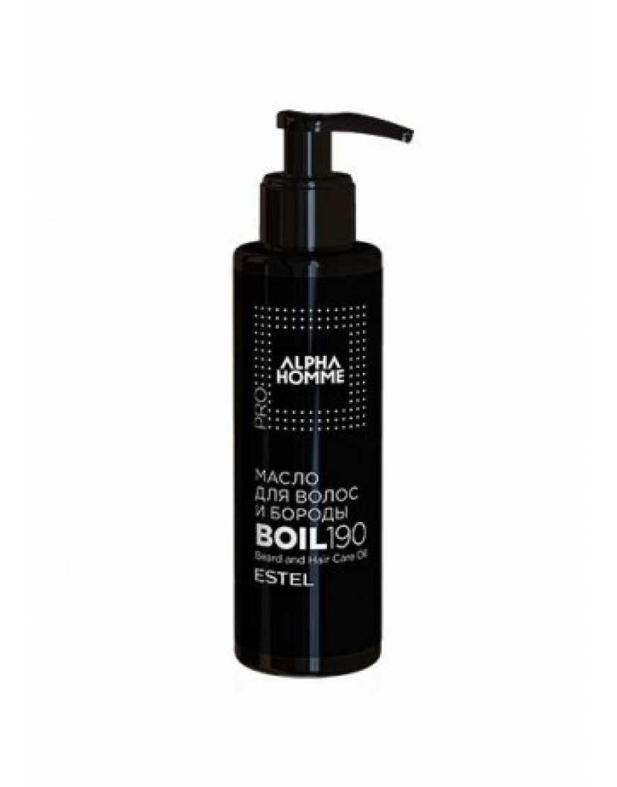 ESTEL Масло для волос и бороды Alpha Homme,190 мл