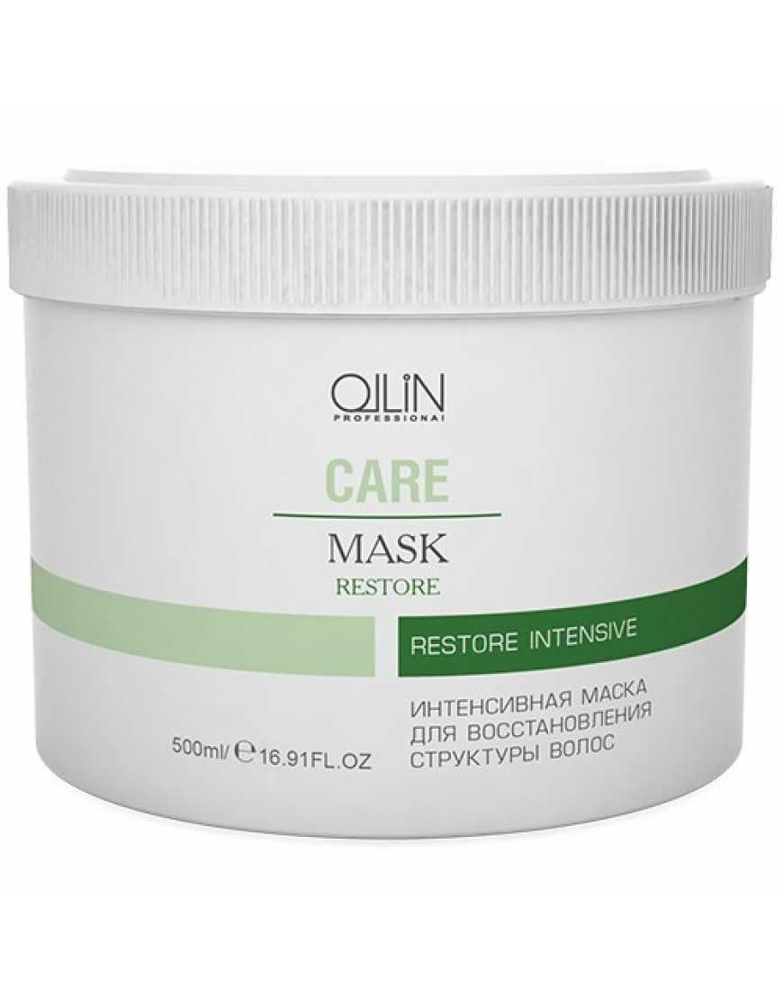 OLLIN Professional Care Интенсивная маска для восстановления структуры волос, 500 мл