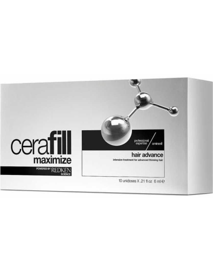 Ампулы двойного действия Redken Cerafill maximize aminexil, 10x6 мл